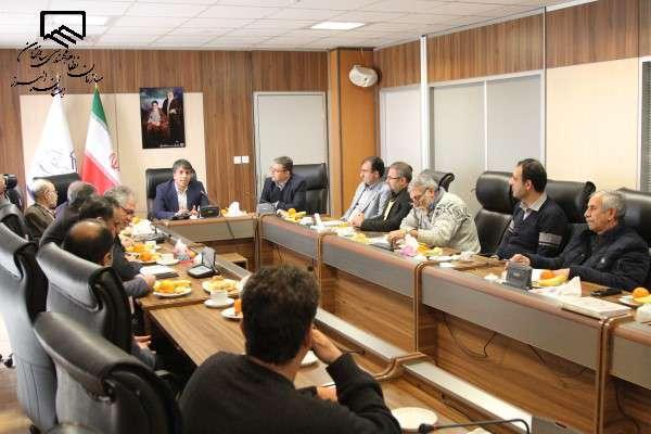 نشست تخصصی اعضای هیات مدیره سازمان نظام مهندسی ساختمان استان البرز با اعضای شورای اسلامی شهر کرج