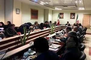 بررسی تهیه و تدقیق نقشه گسل های شهر تهران در جلسه کارگروه امورزیربنایی و شهرسازی