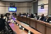 برگزاری هشتمین جلسه کمیسیون ماده پنج شهر بجنورد در خراسان شمالی