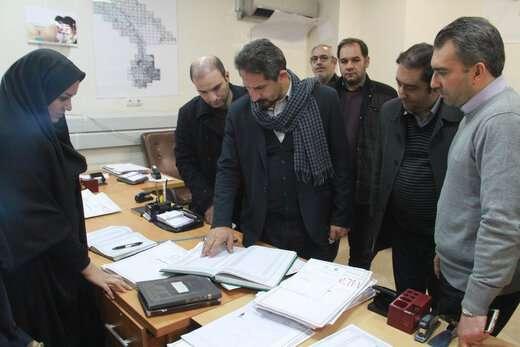 بازدید سرزده شهردار ازشهرداری  منطقه 6