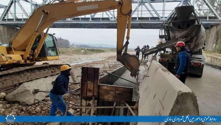پروژه فاز دوم بوستان ملل به همت مجموعه شهرداری ساری در حال انجام است
