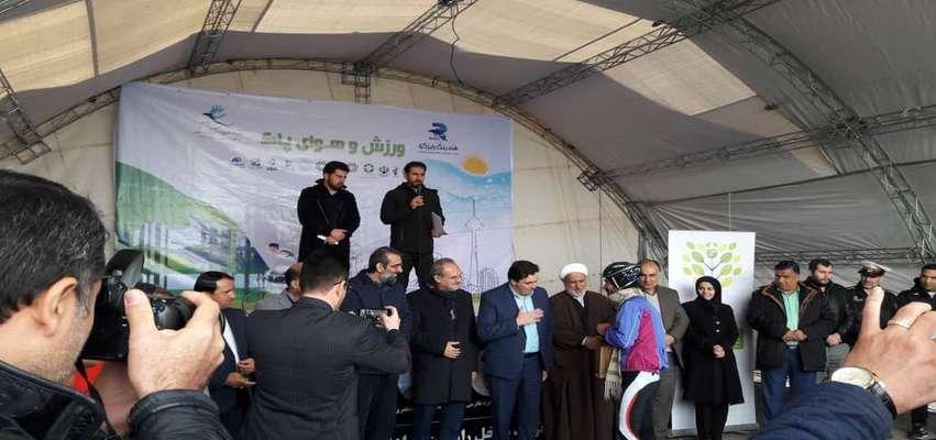 برگزاری مسابقه دوچرخه سواری در روز ورزش و هوای پاک