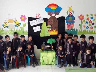 مراسم عزاداری ایام فاطمیه (س) در خانه فرهنگ دانش برگزار شد