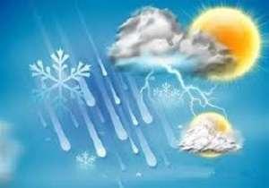 وضعیت آب و هوا در ۲۷ دی / آسمان تهران نیمه ابری است
