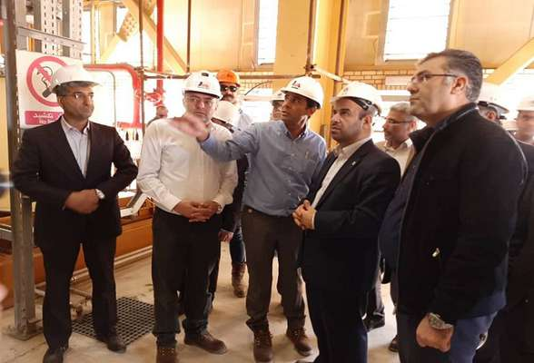 واحد اول نیروگاه کلاس F هنگام بندرعباس در دهه مبارک فجر راه اندازی می شود