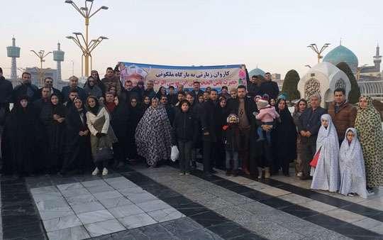 اعزام 320 نفر از کارکنان شرکت آب و فاضلاب استان گیلان به مشهد مقدس