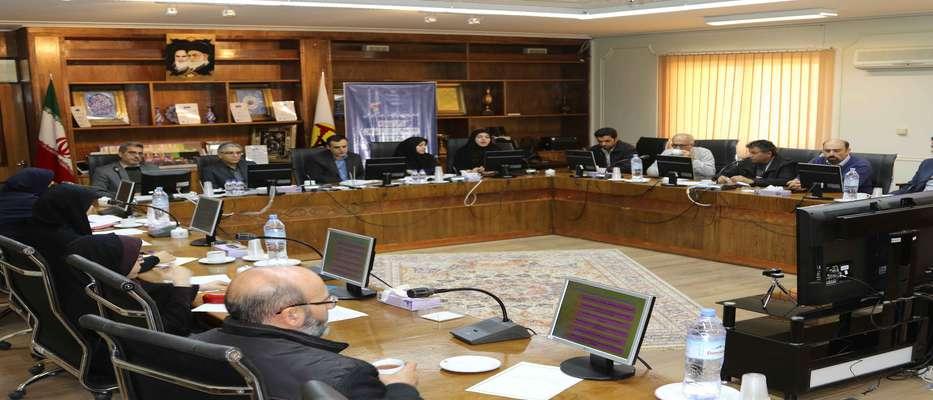 نشست مشترک اعضای کارگروه مدیریت دانش شرکت آب منطقه ای و برق منطقه ای اصفهان