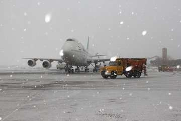 پروازهای فرودگاه مهرآباد با تاخیر انجام می شود