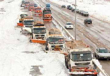 بارش برف، بخبندان و مهآلودگی در ۸ استان/ در ترددهای شهری و جادهای احتیاط کنید