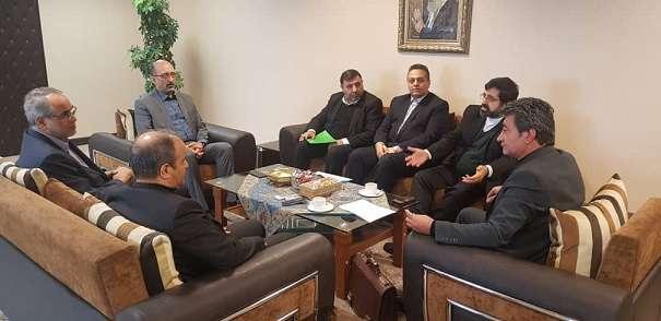 نشست مشترک استاندار اردبیل با مدیرعامل بانک توسعه تعاون...