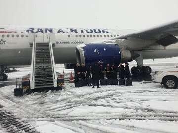 پروازهای فرودگاه مهرآباد از سر گرفته شد