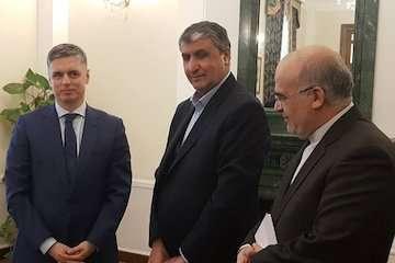 دیدار وزیر راهوشهرسازی با وزیران زیرساخت و امور خارجه اوکراین/ اسلامی، حامل پیام تسلیت رییسجمهور به همتای اوکراینی