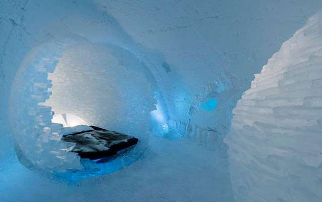 آشنایی با اعجابانگیزترین هتلهای یخی
