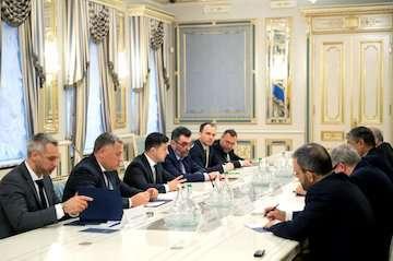 اسلامی پیام تسلیت رییسجمهور کشورمان را به  رییس جمهور اوکراین تقدیم کرد/ قدردانی مقامات اوکراینی از همکاری ایران/ تاکید بر ادامه روند بررسیها بهصورت مشترک و شفاف