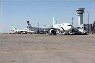 پیشرفت ۸۸ درصدی باند دوم فرودگاه کرمان/ اتمام طرح توسعه و بهسازی فرودگاه تا تیر سال آینده/ فرودگاه کرمان، پیشرو در هوانوردی عمومی