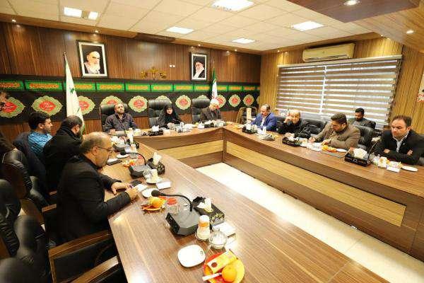 یکصد و چهارمین جلسه کمیسیون فرهنگی اجتماعی شورای شهر رشت