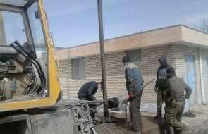 رفع قطعی آب شرب بیش از 2500 نفر در مجتمع شهید چمران فیروزه