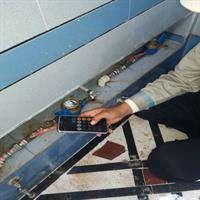 قرائت کنتورهای آب با استفاده از تلفن همراه در استان خوزستان