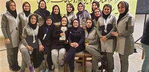 کسب نائب قهرمانی مسابقات آمادگی جسمانی و دو میدانی وزرات نیرو توسط بانوان برق منطقه ای خوزستان