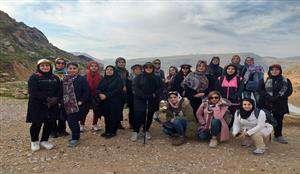برگزاری کوهپیمایی بانوان