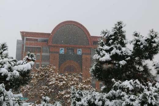کاهش محسوس دما و بارش برف از فردا در آذربایجان شرقی