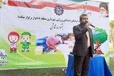 حضور رییس شورای شهر اهواز در جشنواره نقاشی