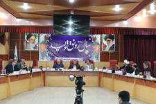 یکصد و پنجمین جلسه شورای اسلامی شهر اهواز برگزار شد+گزارش تصویری