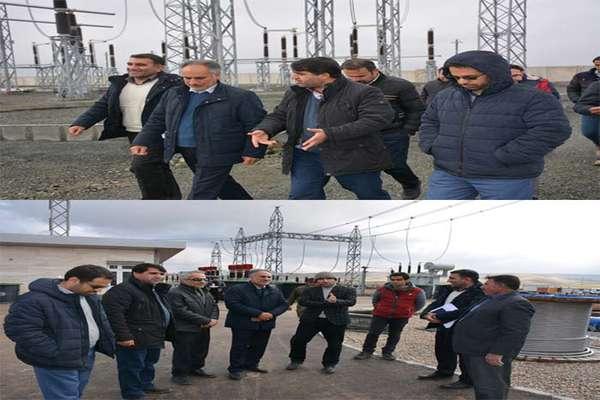 بازدید مدیرعامل شرکت برق منطقهای غرب از پروژههای فعال در کرمانشاه و کردستان