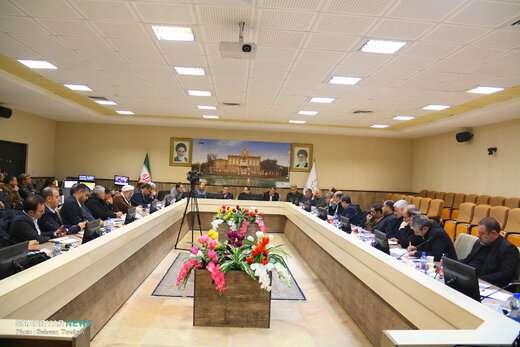 جلسه شورای مدیران شهرداری تبریز