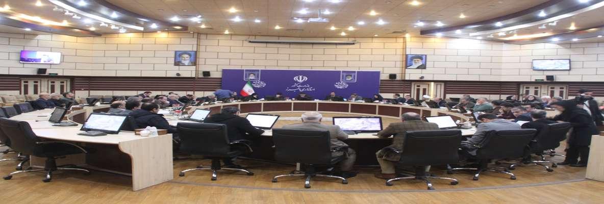 پنجمین جلسه کارگروه زیربنائی استان البرز تشکیل گردید