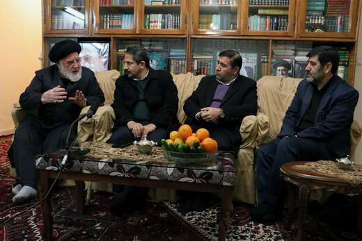دیدار با خانواده شهید سید احمد موسوی