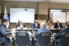 جلسه اعضای کارگروه مشورتی  جمع آوری آبهای سطحی با مدیران آبفای اهواز +گزارش تصویری