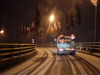 بیش از 2 هزار کیلومتر معابر شهری برفروبی و یخزدایی شد
