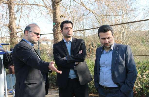 بازدید رئیس شورای شهر و تعدادی از مدیران شهرداری از پارک بانوان و پروژه های شهرداری