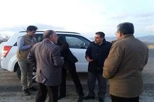 بازدید سرزده معاون وزیر راه و شهرسازی از محور بجنورد به جنگل گلستان