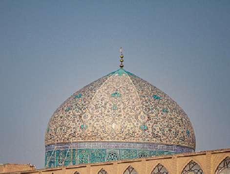 میراث فرهنگی به ابهامات مرمت گنبد شیخ لطفالله پاسخ دهد