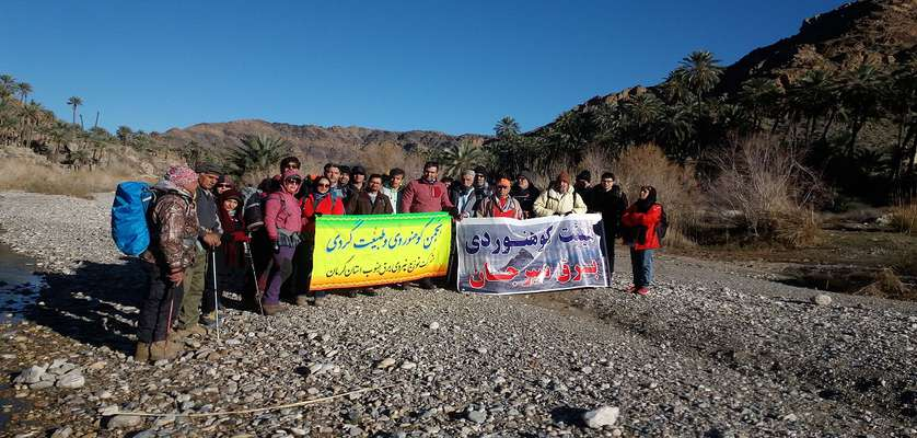 صعود انجمن كوهنوردي و طبيعت گردي به قله تيراندازي حاجي آباد