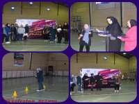 برگزاری مسابقات متنوع ورزشی ویژه بانوان عضو سازمان