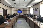 جلسه كميسيون ماده ٥ شهرهاي اسفراين و شيروان یکشنبه 6 بهمن 98
