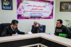 ملاقات مردمی شهردار شیراز در منطقه دو شهرداری با ساکنین این منطقه