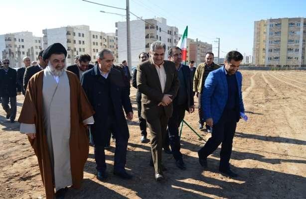 کلنگ احداث 96 واحدی مسکونی طرح اقدام ملی مسکن  با حضور معاون وزیر راه و شهرسازی به زمین زده شد.