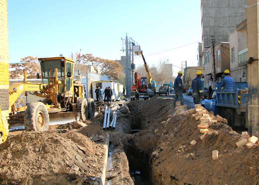 اجرای مراحل پایانی زیرسازی و تحکیم فاز دوم مسیرگشایی شهید میلانی