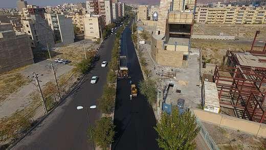 اجرای ۱۳هزارتن آسفالت ریزی اساسی در مسیرهای حوزه شهرداری منطقه ۲