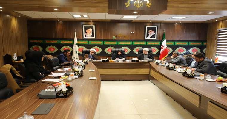 جلسه کمیسیون فرهنگی و اجتماعی شورای اسلامی شهر رشت