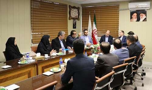 برگزاری جلسه نشست بررسی وضعیت پروژه های بازآفرینی شهری با حضور فرماندار شهرستان رشت