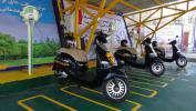 بهره برداري از موتورسيكلت هاي برقي و ايستگاه شارژ در توزيع برق استان تهران