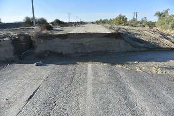 سیلاب افزون بر ۹ هزار کیلومتر از جادههای سیستان و بلوچستان و کرمان را تخریب کرد