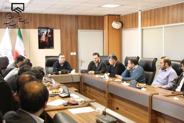 نشست هماهنگی و بررسی مسایل و مشکلات دفاتر نمایندگی با حضور ریاست سازمان برگزار شد