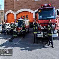 خريد 10 ميليارد تومان تجهيزات فردي براي آتشنشانان اصفهان