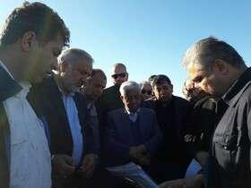 بازدید سرپرست وزارت جهادکشاورزی از پروژه انتقال آب به اراضی دشت سیستان